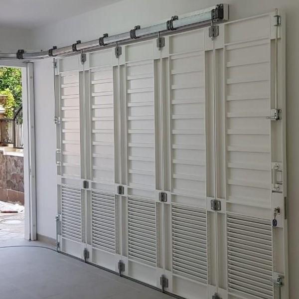 jasa pemasangan pintu besi menikung
