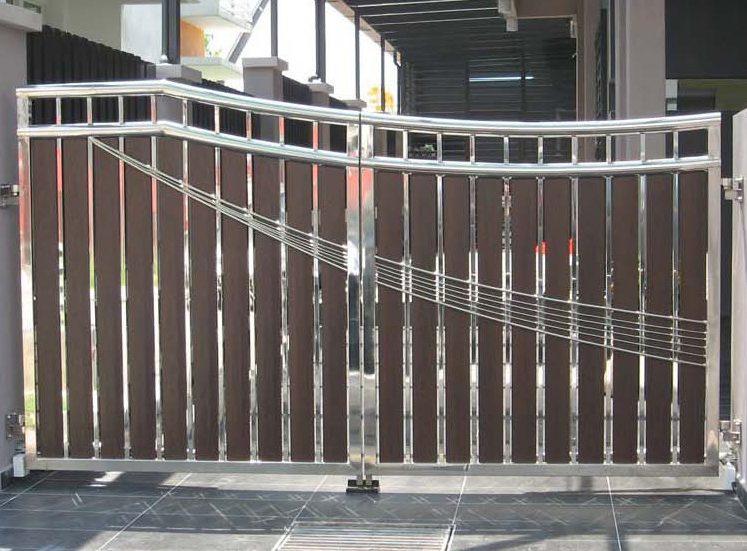 jasa pemasangan gerbang stainless steel di medan