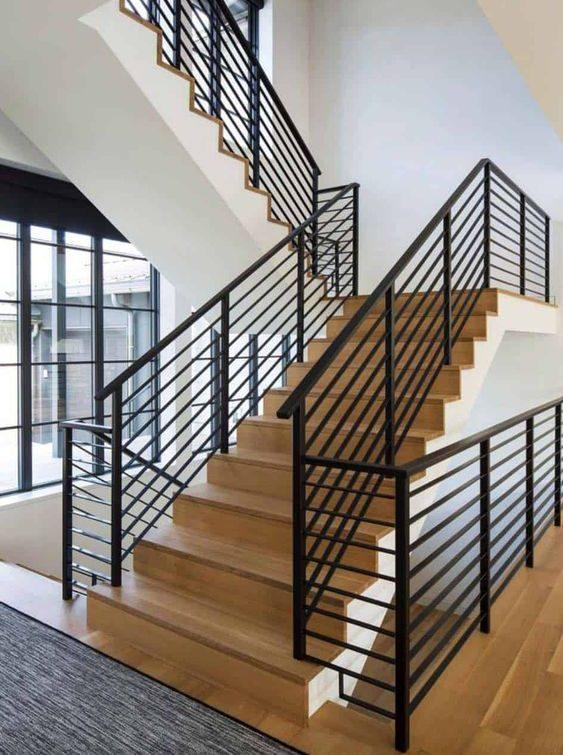 jasa pemasangan railing tangga besi
