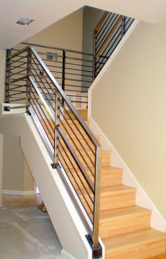 jasa pemasangan railing tangga stainless steel #1 medan