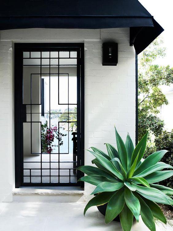 jasa pemasangan pintu besi minimalis
