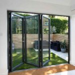 jasa pemasangan pintu lipat aluminium kaca