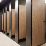 phenolic board toilet cubicle #1 medan