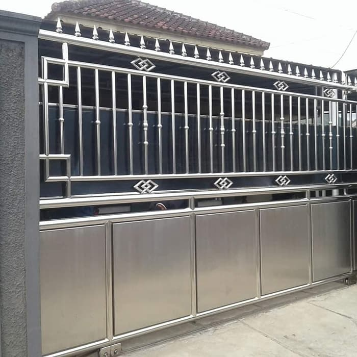 jasa pemasangan pagar stainless steel