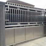 jasa pemasangan gerbang stainless steel #1 medan